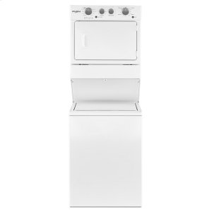 Whirlpool3.5 cu.ft Gas Stacked Laundry Center 9 Wash cycles and AutoDry