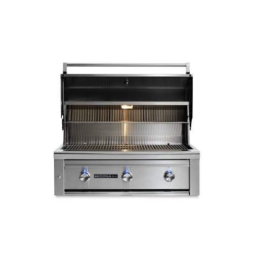 """36"""" Sedona by Lynx Built In Grill with 3 Stainless Steel Burners, NG"""
