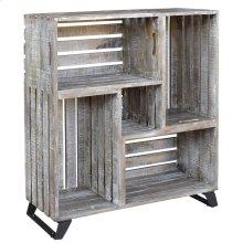 Bengal Manor Mango Wood Reclaimed Crates Bookcase