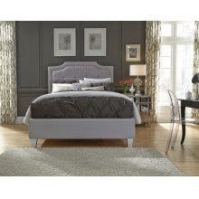 Grey Uph. Headboard, 5/0