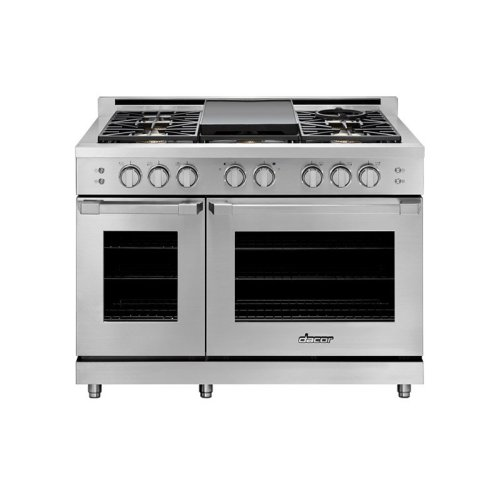 """48"""" Heritage Gas Pro Range, DacorMatch Natural Gas/High Altitude"""