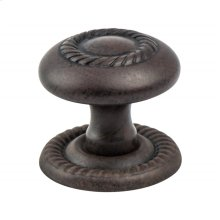 Advantage Plus Four Rust Glaze Roped Knob