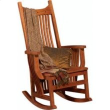 Bridger Mission Tall back Rocking Chair