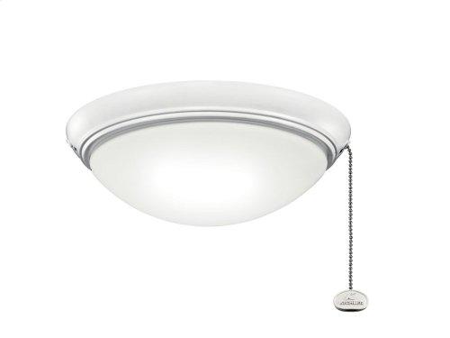 """LED Low-Profile 11.5"""" Light Kit Matte White"""