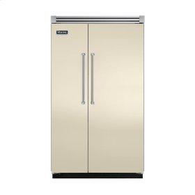 "Biscuit 48"" Quiet Cool™ Side-by-Side Refrigerator/Freezer - VISB Tru-Flush™ (48"" wide)"