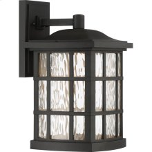 Stonington LED Black Outdoor Lantern