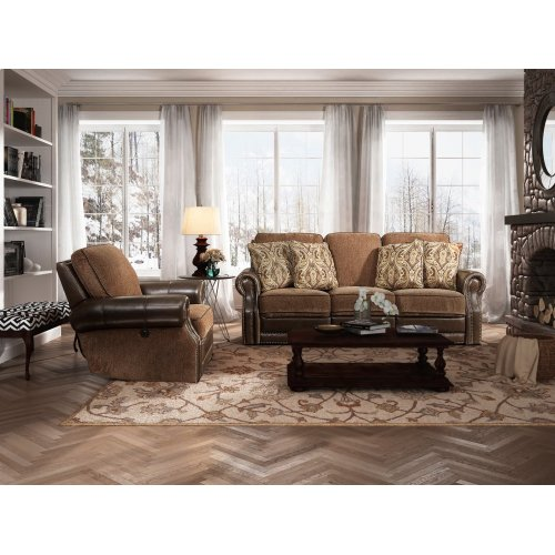 Jefferson Bark-Caravane-Auburn Sofa