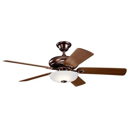"52"" Bentzen Select LED Fan Oil Brushed Bronze"