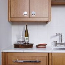 Base Cab with: 1 top drawer, 1 hinged door, 1 adj shelf.(Left) STYLE: AL0001