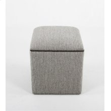 Small ottoman with nails
