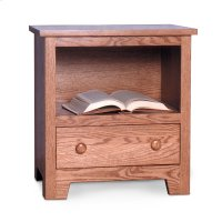 Shaker Nightstand with Opening Product Image