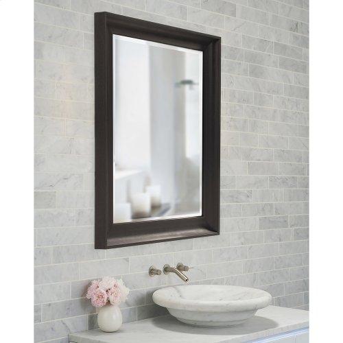 Parker Black Rectangle Mirror
