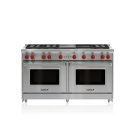 "60"" Gas Range - 6 Burners, Infrared Charbroiler and Infrared Griddle Product Image"