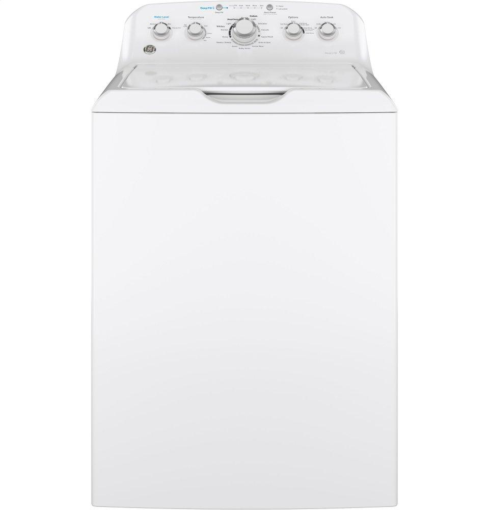 GE(R) 4.5 DOE cu. ft. Capacity Washer with Stainless Steel Basket