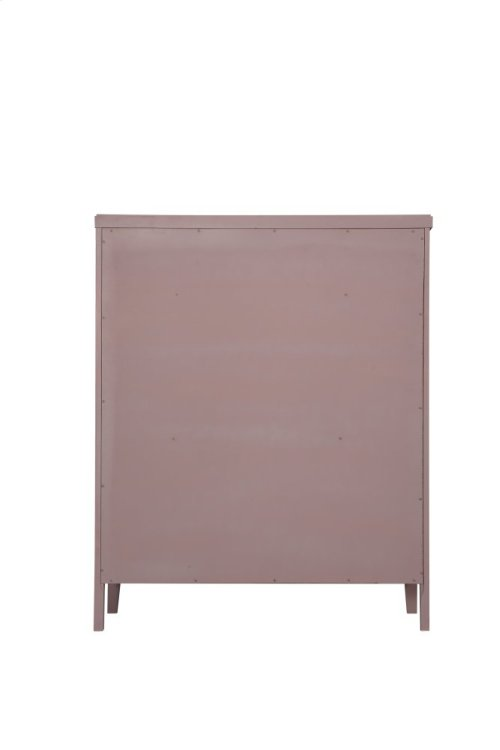 Emerald Home Home Decor 5 Drawer Chest-pink B371-05pnk