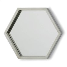 Bee Hive Mirror Set In Silver Leaf (set of 5)