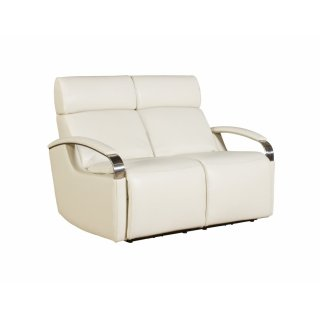 Cosmo White Loveseat