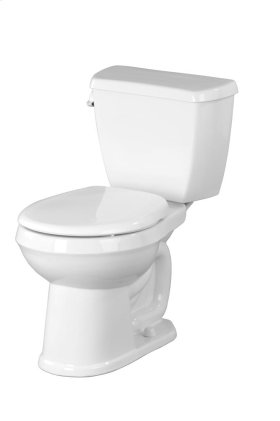"Biscuit Avalanche® 1.6 Gpf 10"" Rough-in Two-piece Round Front Toilet"