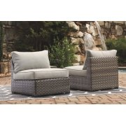 Armless Chair w/Cushion (2/CN) Product Image