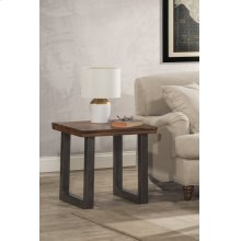 Emerson End Table With Manufactured Live Edge Top - Ctn A - Top Only