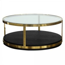 Armen Living Hattie Contemporary Coffee Table