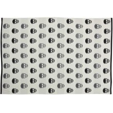 "Trendy, Hip, New-age Uk200 Black/white 50"" X 60"" Throw Blanket"