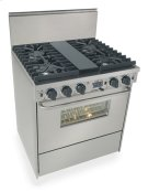 """30"""" Dual Fuel, Convect, Self Clean, Sealed Burners, Stainless Steel Product Image"""