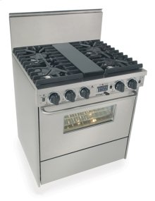 "30"" Dual Fuel, Convect, Self Clean, Sealed Burners, Stainless Steel"