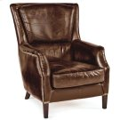 Leather Garconniere Chair (brown) Product Image