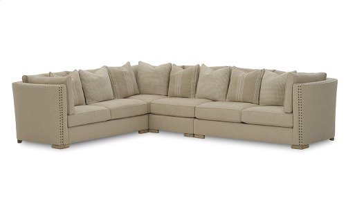 Madison Natural Right Arm Facing Loveseat