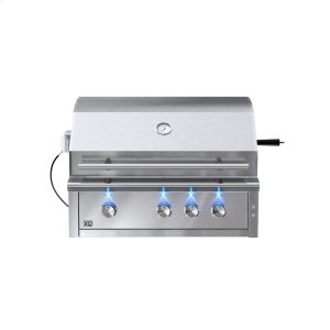 XO APPLIANCE36in Grill 3 Burner w/ Rotiss Burner LP also avail NG