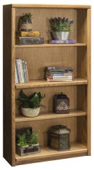 """Contemporary 60"""" Bookcase Product Image"""