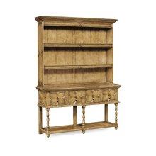 Tudor Style Natural Oak Welsh Dresser