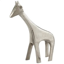 Lg Nickel Neck Sculpture