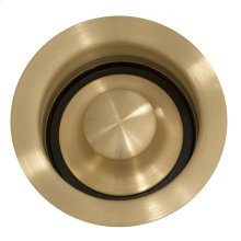 Kitchen Disposal Drain Brass Finish