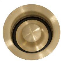 Kitchen Disposal Drain Brass Finish