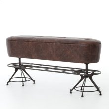 Giles Counter Bench-havana/waxed Black