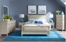 Grace Upholstered Bed, Queen 5/0