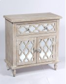 Emerald Home Ac701-06 Canterwood Accent Cabinet, Whitewash Product Image