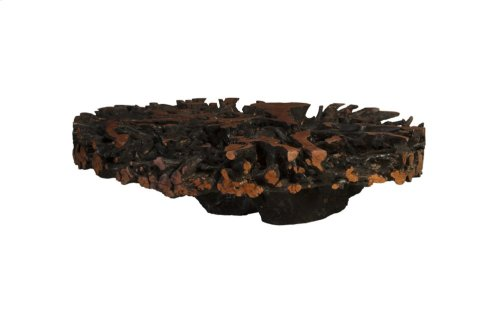 Lychee Root Coffee Table, Round
