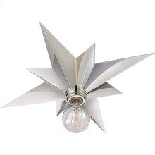 Visual Comfort SC4000PN Eric Cohler Star 1 Light 15 inch Polished Nickel Flush Mount Ceiling Light