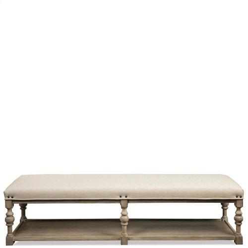 Juniper - 72-inch Upholstered Dining Bench - Natural Finish