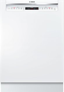 800 DLX Rec Hndl, 6/6 cycles, 42 dBA, Flex 3rd Rck, UR glide, Touch Cntrls - WH