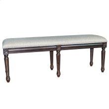 Hampton Linen Accent Bench
