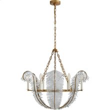 Visual Comfort NW5051GI Niermann Weeks Calais 6 Light 34 inch Gilded Iron Chandelier Ceiling Light, Niermann Weeks