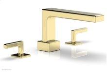 MIX Deck Tub Set - Lever Handles 290-41 - Polished Brass