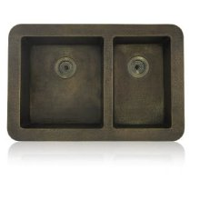 Unequel Double Bowl Topmount/Undermount