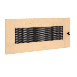 Salamander DesignsSynergy S10 Door, Maple with Perforated Steel Insert