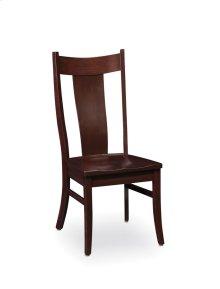 Arnold Side Chair, Fabric Cushion Seat