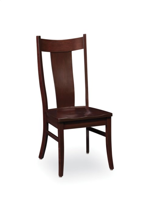 Arnold Side Chair, Fabric Cushion Seat